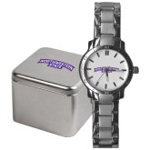 Mens Stainless Steel Fashion Watch-Arched Northwestern State