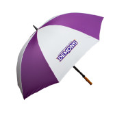 64 Inch Purple/White Umbrella-Northwestern State Demons