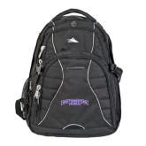 High Sierra Swerve Black Compu Backpack-Arched Northwestern State