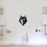 1 ft x 1 ft Fan WallSkinz-Wolf Head