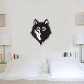 2 ft x 2 ft Fan WallSkinz-Wolf Head