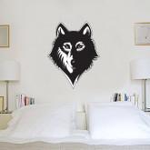 3 ft x 3 ft Fan WallSkinz-Wolf Head