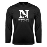 Syntrel Performance Black Longsleeve Shirt-Official Logo