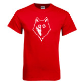 Red T Shirt-Wolf Head