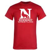 Red T Shirt-Wrestling