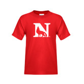 Youth Red T Shirt-N Mark