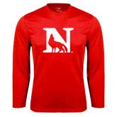 Syntrel Performance Red Longsleeve Shirt-N Mark