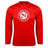 Syntrel Performance Red Longsleeve Shirt-Athletic Club