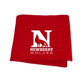 Red Sweatshirt Blanket-Official Logo