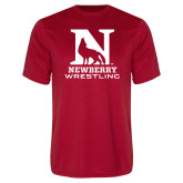 Syntrel Performance Red Tee-Wrestling