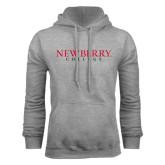 Grey Fleece Hoodie-Newberry College