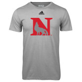 Adidas Climalite Sport Grey Ultimate Performance Tee-N Mark