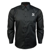 Red House Black Long Sleeve Shirt-Official Logo