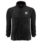 Fleece Full Zip Black Jacket-N Mark