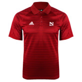 Adidas Climalite Red Jaquard Select Polo-N Mark