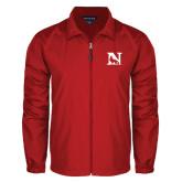 Full Zip Red Wind Jacket-N Mark