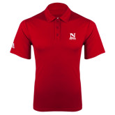 Adidas Climalite Red Grind Polo-Official Logo