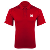 Adidas Climalite Red Game Time Polo-N Mark