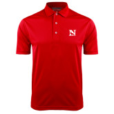 Red Dry Mesh Polo-N Mark