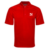 Red Mini Stripe Polo-N Mark