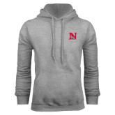 Grey Fleece Hoodie-N Mark