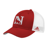 Adidas Red Structured Adjustable Hat-N Mark