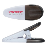 White Crocodile Clip/Magnet-Newberry Wolves