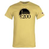 Champion Vegas Gold T Shirt-Forging The Future