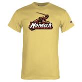 Champion Vegas Gold T Shirt-Distressed Mark