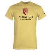 Champion Vegas Gold T Shirt-University Mark