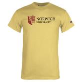 Champion Vegas Gold T Shirt-University Mark Flat