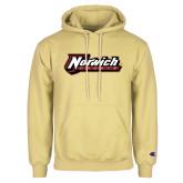 Champion Vegas Gold Fleece Hoodie-Norwich Wordmark