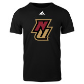 Adidas Black Logo T Shirt-NU