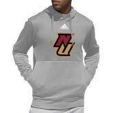 Adidas Grey Team Issue Hoodie-NU
