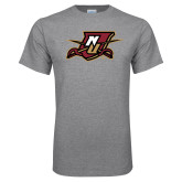 Grey T Shirt-NU Shield