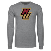 Grey Long Sleeve T Shirt-NU
