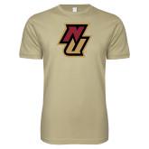 Next Level SoftStyle Khaki T Shirt-NU