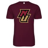 Next Level SoftStyle Maroon T Shirt-NU