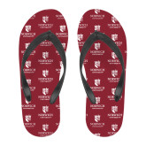 Full Color Flip Flops-University Mark