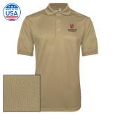 Vegas Gold Dry Mesh Polo-University Mark