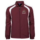 Colorblock Maroon/White Wind Jacket-Class of 1993 25th Reunion - Primary Mark