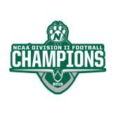 Medium Decal-NCAA DII Football Champions 2016