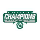Medium Decal-NCAA Division II Mens Basketball Champions - Stencil