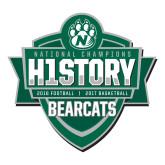Large Decal-History Shield Logo