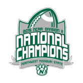 Small Decal-2015 NCAA National Football Champs