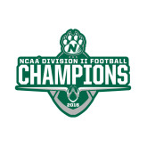 Small Decal-NCAA DII Football Champions 2016