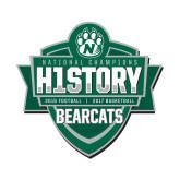 Small Decal-History Shield Logo