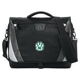 Slope Compu Black/Grey Messenger Bag-Official Logo