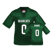 Youth Replica Dark Green Football Jersey-Official Logo