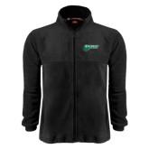 Fleece Full Zip Black Jacket-Northwest Bearcats w/ Cat
